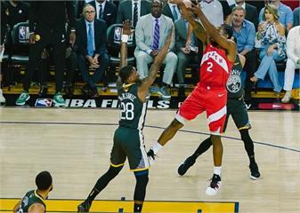 NBA決賽 /雷納德狂飆36分 率領暴龍以105比92擊敗勇士