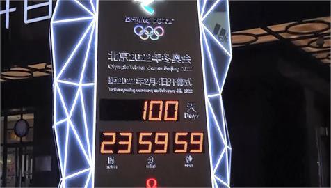 北京冬奧倒數100天 疫情.人權爭議夾擊