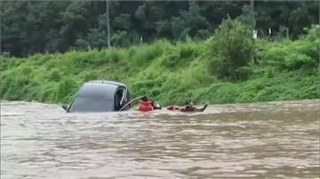 南韓連46天豪雨成災 至少21人死亡