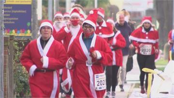 各地12月慶耶誕德國耶老路跑 巴西上演垂降秀