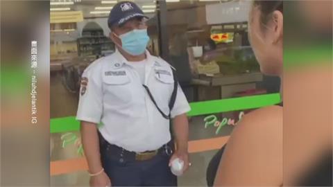 丟臉丟到國外!台網紅「畫口罩」逛超市  峇里島當局查扣護照