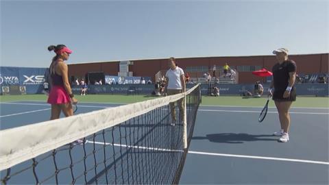 芝加哥女網首輪 激戰三盤晉級!謝淑薇擊敗前球后克萊絲特絲