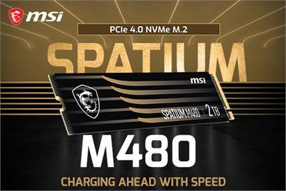 極速存儲 MSI擴展消費級SSD產品線 - SPATIUM系列 M480、M470 及 M370