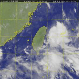 快新聞/梅雨鋒面離開台灣 林嘉愷:西半部仍將有午後局部陣雨或雷雨