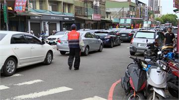 韓國瑜台中造勢交管10小時 周邊交通打結惹民怨