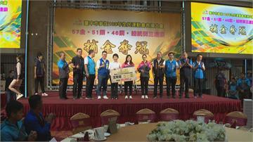 全民會台中代表隊狂掃57金 三連霸總統獎