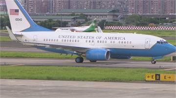 快新聞/【現場直擊】美國衛生部長阿札爾抵台了! 週一上午會見蔡英文