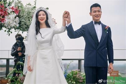 「最美臉孔」不嫁法拉利總裁 與清大老公超甜婚禮照曝光