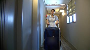 五星飯店力抗不景氣 靠整房神器智慧化服務