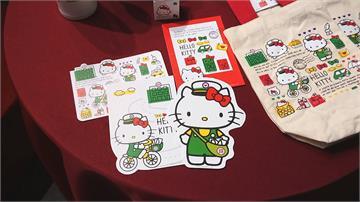 郵局合作Hello Kitty推Q版郵筒開賣首日爆搶購潮