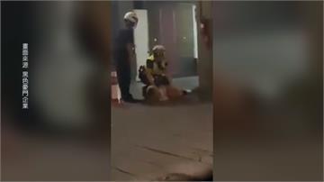 情侶喝醉攻擊運將 警察兩度用腳踹女子頭部