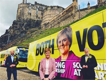 快新聞/蘇格蘭民族黨議會大勝 表態將再推「獨立公投」