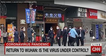 武肺疫情原爆點?CNN重返武漢遭警關切