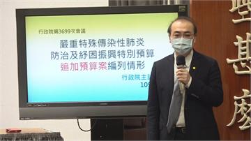 快新聞/編列1500億武漢肺炎特別預算  政院盼朝野支持共度難關!