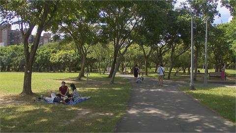 保持通風+維持社交距離 大安森林公園湧野餐人潮