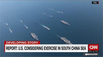 美驅逐艦在南海遭中國軍艦攔截 險擦槍走火