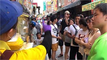 鹿港老街連假湧入上萬遊客 蚵仔煎單日狂賣近2千份