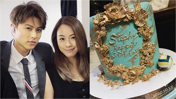 王子送上慶生蛋糕照放閃!鄧麗欣甜蜜回應 破除分手傳言