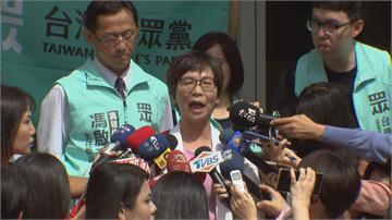 快新聞/民眾黨搶頭香登記高市長補選 蔡壁如:柯主席會跟宋主席當面報告