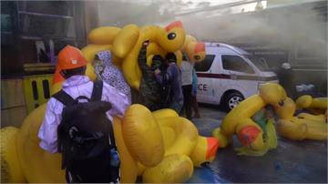全球/「無言的抗爭武器」 黃色小鴨為何成泰國示威新象徵?