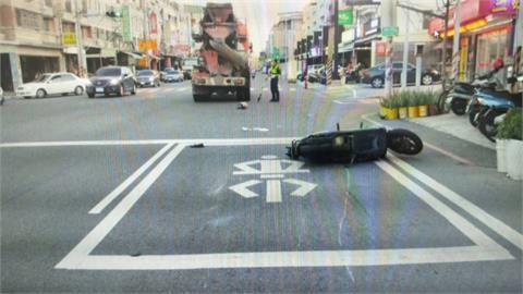 遭水泥車擦撞 薩爾瓦多籍女魂斷台南警處理一度與死者男友爭執