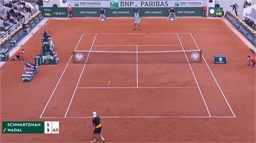 蠻牛超威!納達爾直落三晉級法網 男單決賽對戰球王喬科維奇