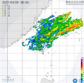 快新聞/全台補水時間到!4月最大降雨日 氣象局:7縣市大雨特報