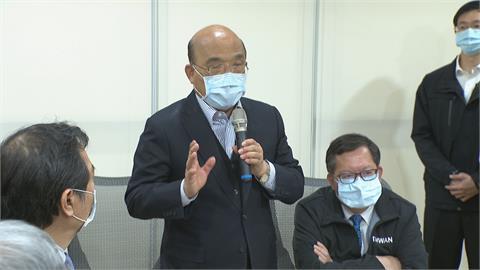 73歲蘇貞昌開打「台灣第一針」疫苗!指揮中心:沒問題