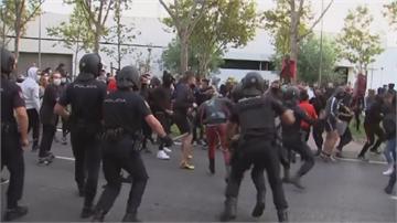 歐洲多國疫情拉警報 西班牙爆發警民衝突