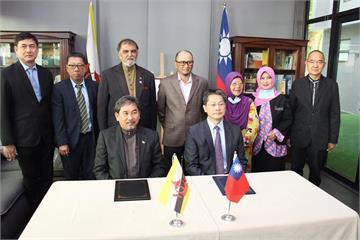 快新聞/促進清真經貿合作及產業對接 駐汶萊代表處當推手簽MOU