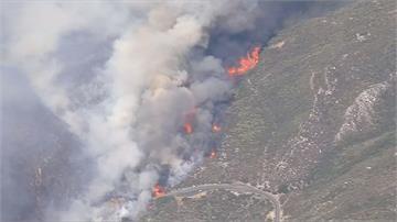 美西熱到爆!死亡谷52.7度 加州森林大火