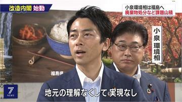 新官上任三把火!小泉進次郎入閣首日視察福島