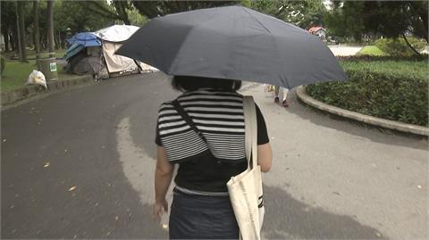 東南風影響 山區中南部午後降雨機率高