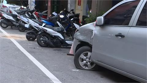 無照逆向撞汽機車側翻 肇事女駕駛稱心情差