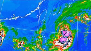 閃電颱風海警發布!週五最靠近台 不排除發陸警...替水庫解渴機會不高