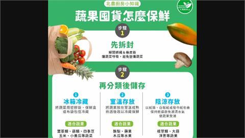 防疫降低購買次數!蔬菜怎保存?家事達人親自示範保鮮技巧