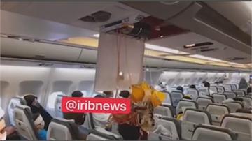 美F15戰機突逼近 伊朗客機急避陡降乘客受傷 伊朗喊要査
