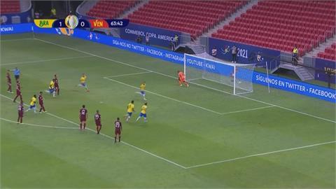 美洲盃小組賽!內馬爾罰球破門 巴西3:0輕取委內瑞拉