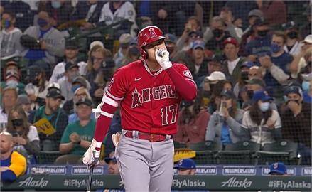 MLB/大谷翔平賽季最終戰開轟 單季打點站上百分大關