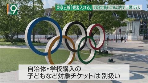 東京奧運確定將開放觀眾  場館上限1萬人