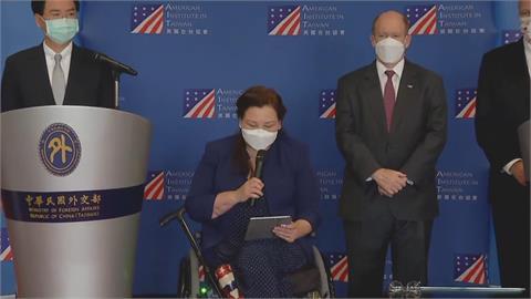 快新聞/展現「堅若磐石」台美情誼 美參議員:不會拋下台灣孤軍奮戰