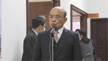 快新聞/致詞6度提到「蔡總統領導有方」 蘇貞昌行動破除府院不合傳言