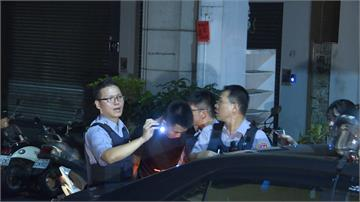 台中市毒犯拒盤查 警用機車遭撞拖行50公尺