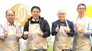 台南市長黃偉哲北上 推銷胡麻農產品