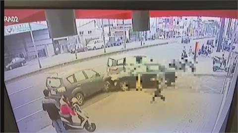 速食店前開6槍 警追緝毒鴛鴦成功壓制