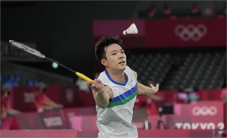 東奧/「羽球王子」王子維不敵丹麥球王 遭直落二止步16強賽