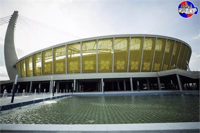 中國送大禮 造價逾40億元體育館坐落柬埔寨金邊