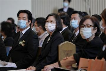 快新聞/悼李登輝 蔡英文、賴清德喊話:台灣人接棒扛起未來