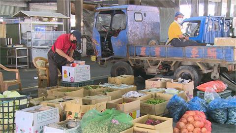 蔬果貨車每日送北農  彰、雲兩大果菜市場快篩