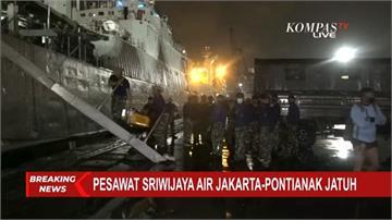 印尼廉航波音737墜毀 機上62人生死未卜